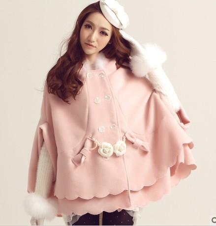 时尚个性斗篷穿出高挑九头身 - 广州蝶倚兰形象设计